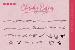 Chipoky | A Handwritten Font Product Image 4