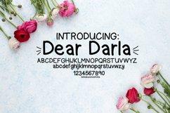 Dear Darla, a handwritten font Product Image 1