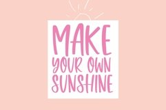 Web Font Sweet Sunshine - A Quirky Handwritten Font Product Image 5