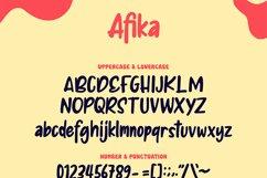 Afika | Fancy Font Product Image 2