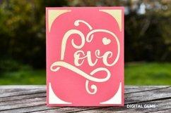 Cricut Joy Card! Love card design! Product Image 2