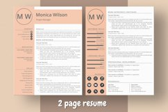 Minimalist CV Template for Ms Word Product Image 3