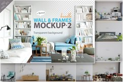 Wall & Frames Mockup - Bundle Vol. 2 Product Image 1