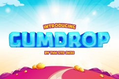 GUMDROP - Gaming Font Product Image 1