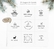 Snowy Christmas script font & logos Product Image 2