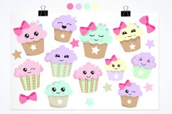 Cutie Cupcakes graphics and illustrations Product Image 2
