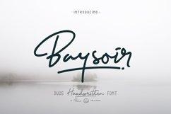 Baysoir Duo Handwritten Free Texture Product Image 1