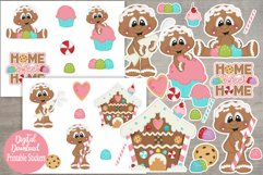 Home Sweet Home Gingers Printable Stickers/Planner Stickers Product Image 1