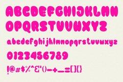 Bulb Layered Font Product Image 4