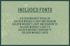 Golden Whiskey Product Image 6