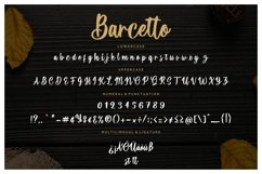 Barcetto Handwritten Brush Product Image 4