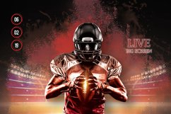 American Football Flyer And Poster Product Image 3