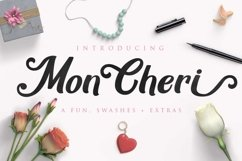 Mon Cheri Typeface + Extras Product Image 1