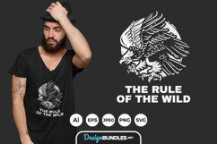 The Ruler of The Wild for T-Shirt Design Product Image 1