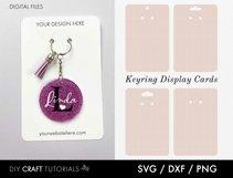 Keyring Display Card Svg BUNDLE, Packaging SVG, Keychain SVG Product Image 2