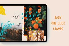 AUTUMN STAMP BRUSHES FOR PROCREATE Product Image 3