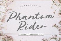 Phantom Rider Modern Handwritten Font Product Image 1