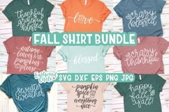 Fall SVG Bundle - Cut Files for Shirts Product Image 1
