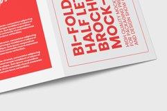 Bi-Fold Half Letter Brochure Mock-up Product Image 3