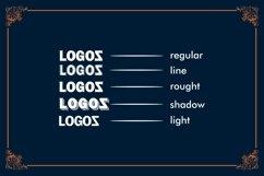LOGOS | 5 Font Logo Product Image 6