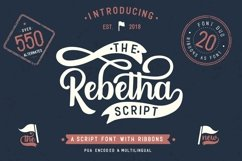 Rebetha Font DUO and extras Product Image 1