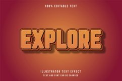 Explore - Text Effect Product Image 1