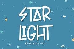 Star Light - Handwritten Font Product Image 1