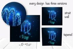 Zodiac signs tumbler sublimation bundle. Full wrap template. Product Image 2