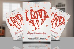 I Love You Valentines Card Product Image 1