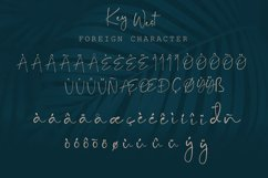 Key West Script Font with Extra Product Image 3