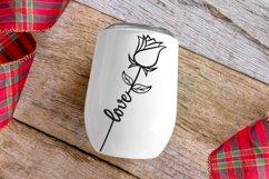 Wedding, Rose SVG, Love SVG. Valentine, Valentines SVG, Product Image 3