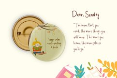 Dear Sunday Kidss Display Font Product Image 5