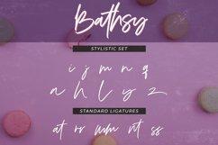 Bathsy Signature Brush Script Font Product Image 4