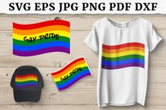 LGBT PRIDE FLAG SVG, Sublimation Design, Pride Month Product Image 1