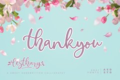 lesthary - Sweet Handwritten Calligraphy Product Image 2