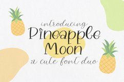 Pineapple Moon Font Duo Product Image 1