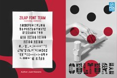 PACK PROMO 5 Zilap Font Team Product Image 4