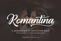 Romantina Font Product Image 1