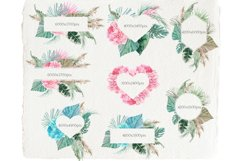 Tropical Wedding&Valentine's Frames Product Image 4