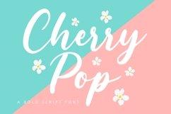 Cherry POP - Bold Script Font Product Image 1