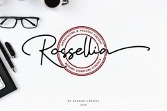 Rossellia - Modern Signature Typeface Product Image 1