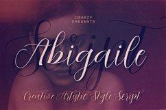 Abigaile Script Font Product Image 1