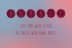 Bubble handwritten natural font in ttf, otf Product Image 3