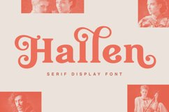 Hallen - Modern Classic Font Product Image 1