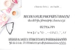 Rose Bud Hand-Lettered Fun Font Product Image 4