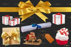 Christmas overlay & Snow overlay, Photoshop overlay Product Image 5
