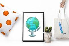 Education icons set, cartoon style Product Image 2