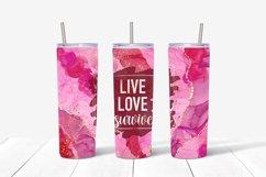 9 Breast Cancer 20 Oz. Skinny Tumbler Sublimation Bundle Product Image 4