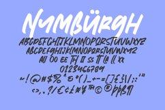 Nymburgh Brush Minimal Display Typeface Product Image 6