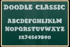 Doodle Classic - Sketch Font Product Image 6